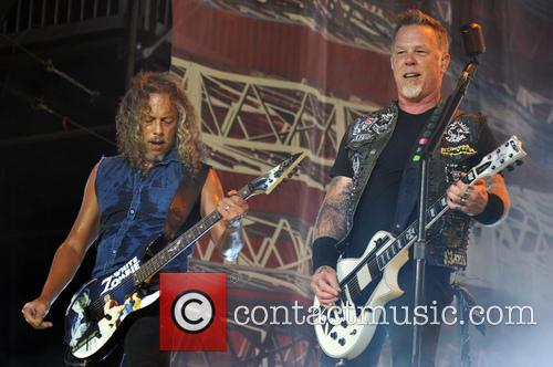 James Hetfield, Kirk Hammett and Metallica 6