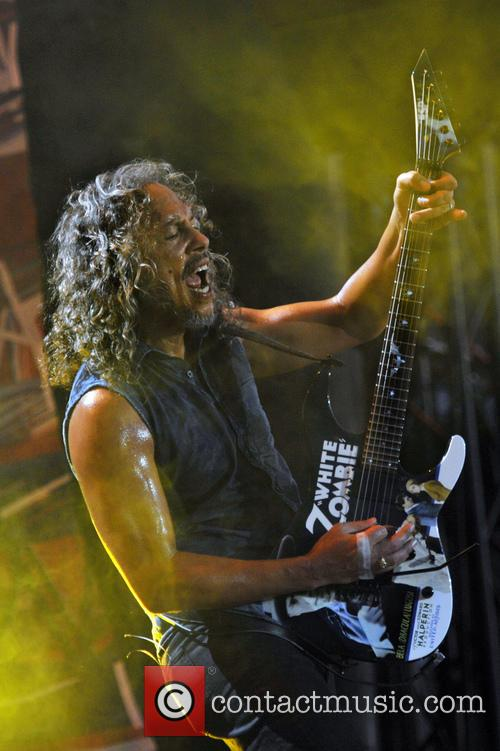 Kirk Hammett and Metallica 5