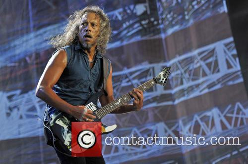 Kirk Hammett and Metallica 6