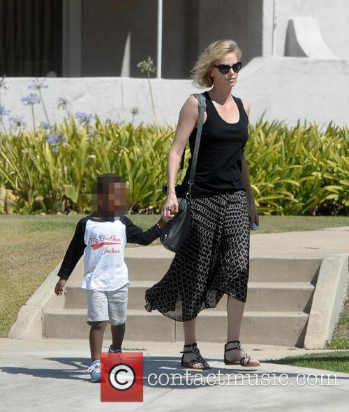 Charlize Theron and Jackson 2