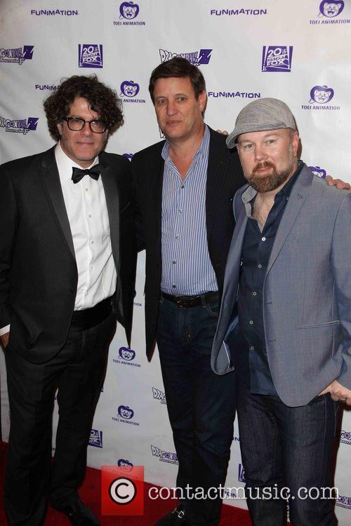 Sean Schemmel, Mike Duboise and Christopher Sabat 3