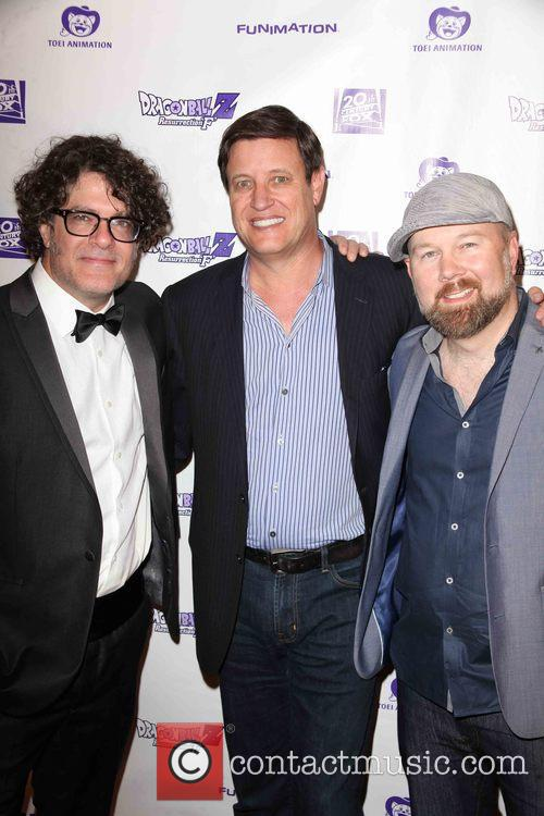 Sean Schemmel, Mike Duboise and Christopher Sabat 4
