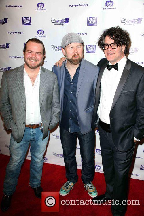 Justin Cook, Christopher Sabat and Sean Schemmel 2