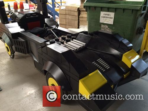 Life-size Lego Batmobile Soapbox and Racer 7