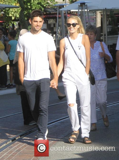 Melissa Ordway with her boyfriend goes shopping at...