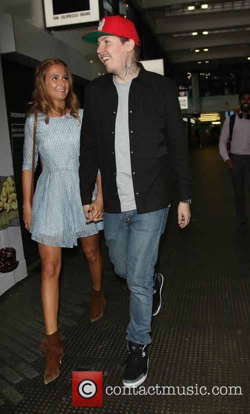 Stephen Paul Manderson, Millie Mackintosh and Professor Green 2