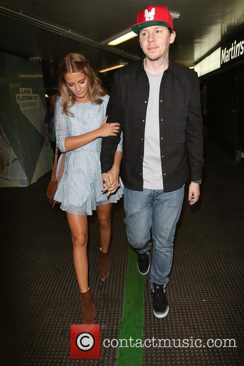 Stephen Paul Manderson, Millie Mackintosh and Professor Green 6
