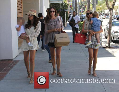 Tamara Ecclestone, Petra Ecclestone, Lavinia Stunt and Sophia Ecclestone-rutland 3