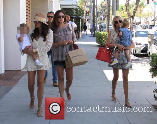 Tamara Ecclestone, Petra Ecclestone, Lavinia Stunt and Sophia Ecclestone-rutland 4