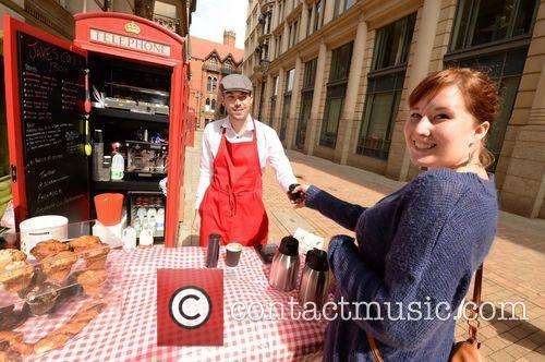 Ring it On! City's 'smallest' coffee shop opens...