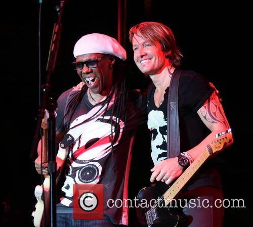Nile Rodgers and Keith Urban 2