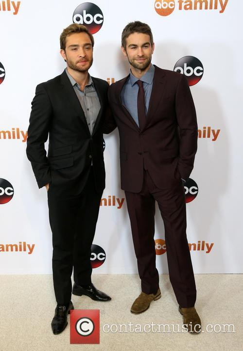 Ed Westwick and Chace Crawford 2