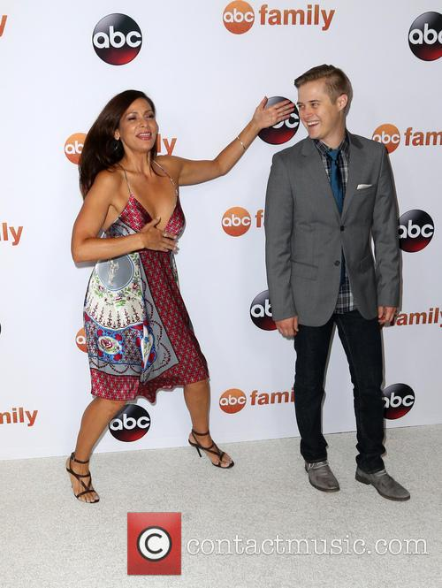 Constance Marie and Lucas Grabeel 2