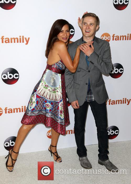 Constance Marie and Lucas Grabeel 1