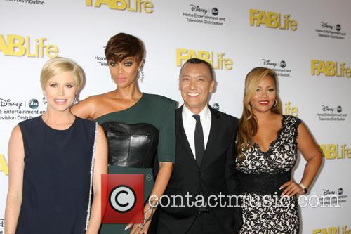 Fablife Cast and Tyra Banks 2