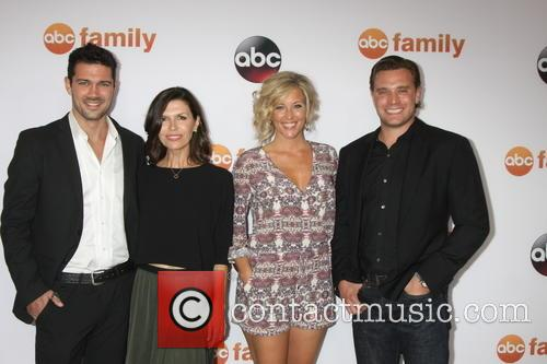 Ryan Paevey, Finola Hughes, Laura Wright and Billy Miller 2