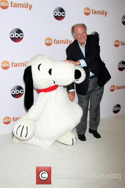 Snoopy and Lee Mendelson 5
