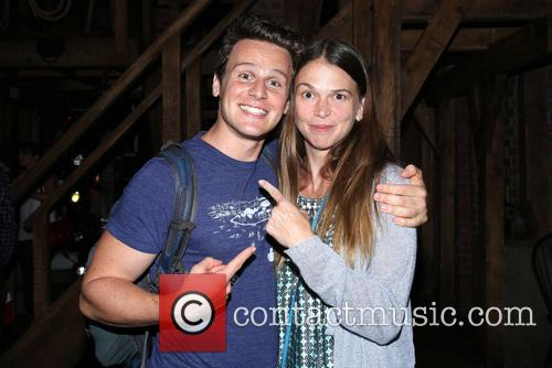 Jonathan Groff and Sutton Foster 2