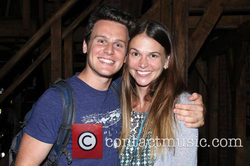 Jonathan Groff and Sutton Foster 3