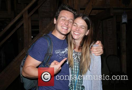 Jonathan Groff and Sutton Foster 1