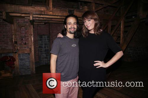 Lin-manuel Miranda and Michelle Collins