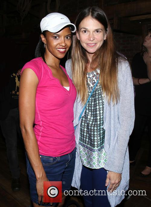 Renee Elise Goldsberry and Sutton Foster 1