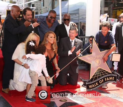 Monroe Cannon, Moroccan Scott Cannon, Stephen Hill, Brett Ratner, Mariah Carey, Lee Daniels, Leron Gubler and L.a. Reid 9