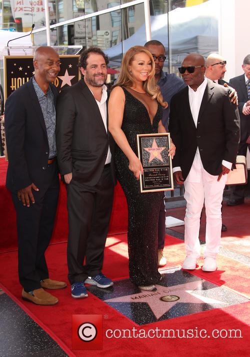 Stephen Hill, Brett Ratner, Mariah Carey, Lee Daniels and L.a. Reid 2