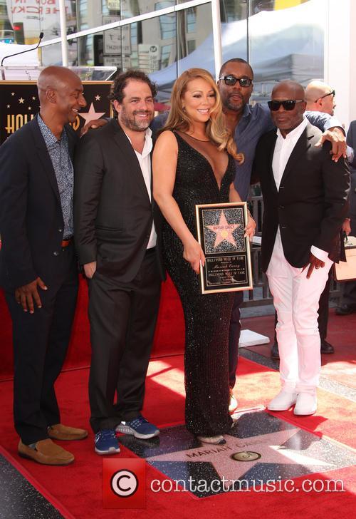 Stephen Hill, Brett Ratner, Mariah Carey, Lee Daniels and L.a. Reid 3