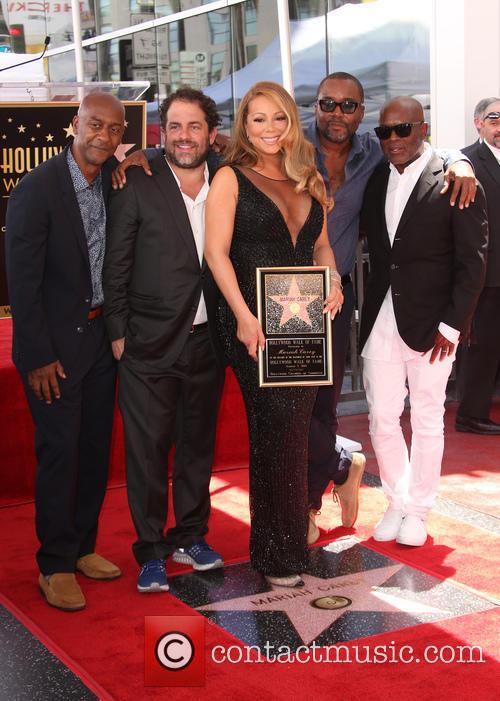 Stephen Hill, Brett Ratner, Mariah Carey, Lee Daniels and L.a. Reid 5