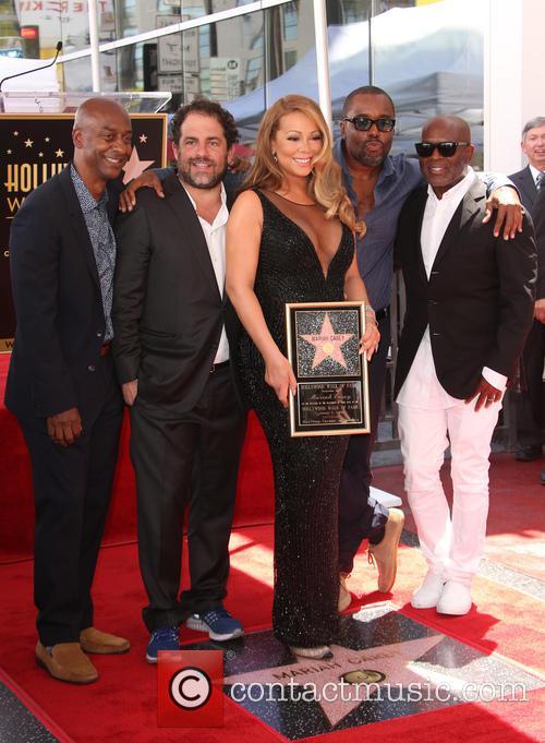 Stephen Hill, Brett Ratner, Mariah Carey, Lee Daniels and L.a. Reid 7
