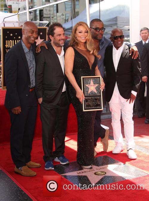 Stephen Hill, Brett Ratner, Mariah Carey, Lee Daniels and L.a. Reid 1