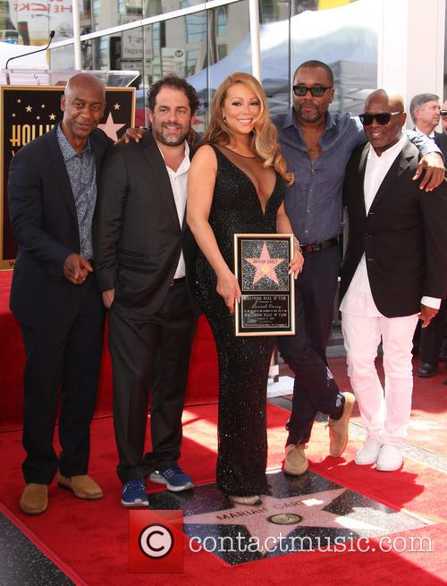 Stephen Hill, Brett Ratner, Mariah Carey, Lee Daniels and L.a. Reid 8