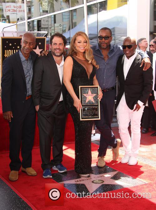 Stephen Hill, Brett Ratner, Mariah Carey, Lee Daniels and L.a. Reid 9
