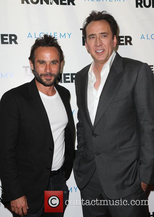 Austin Stark and Nicolas Cage 1