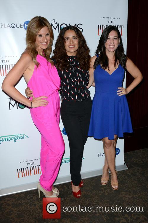 Denise Albert, Salma Hayek and Melissa Musen Gerstein 1