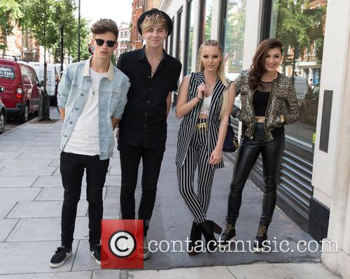 Only The Young, Betsy, Charlie, Mikey and Parisa 2