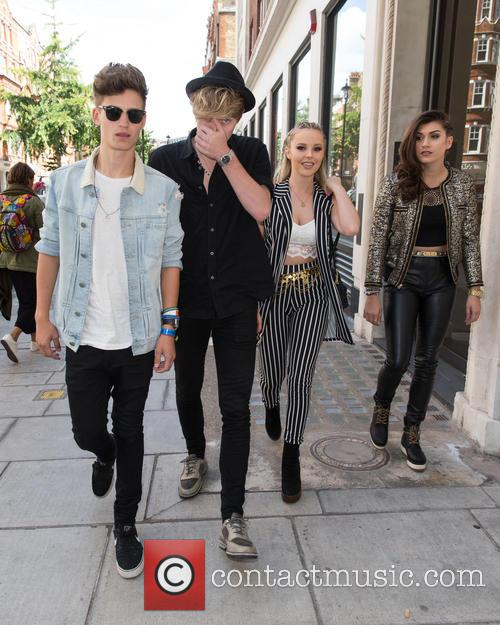 Only The Young, Betsy, Charlie, Mikey and Parisa 3