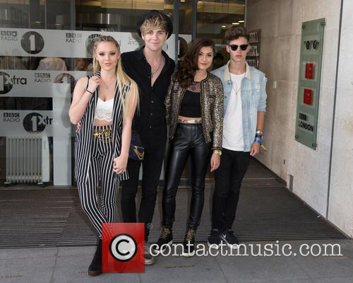 Only The Young, Betsy, Charlie, Mikey and Parisa 5