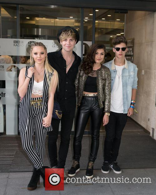 Only The Young, Betsy, Charlie, Mikey and Parisa 6