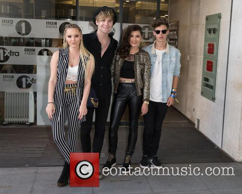 Only The Young, Betsy, Charlie, Mikey and Parisa 7