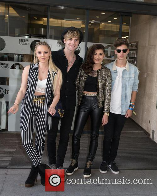 Only The Young, Betsy, Charlie, Mikey and Parisa 1