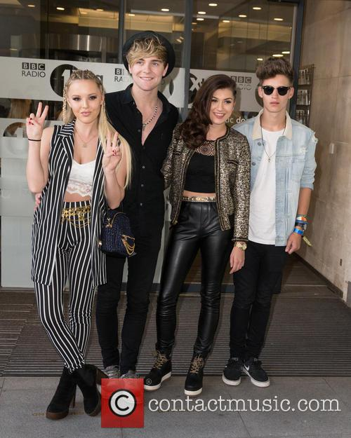 Only The Young, Betsy, Charlie, Mikey and Parisa 8