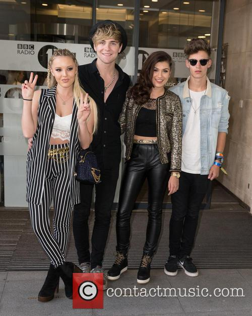 Only The Young, Betsy, Charlie, Mikey and Parisa 9