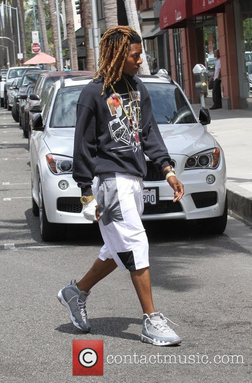 Fetty Wap leaves the doctors office with a...