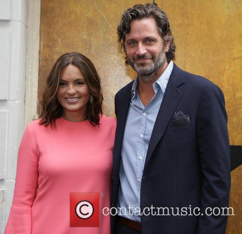 Mariska Hargitay and Peter Hermann 2
