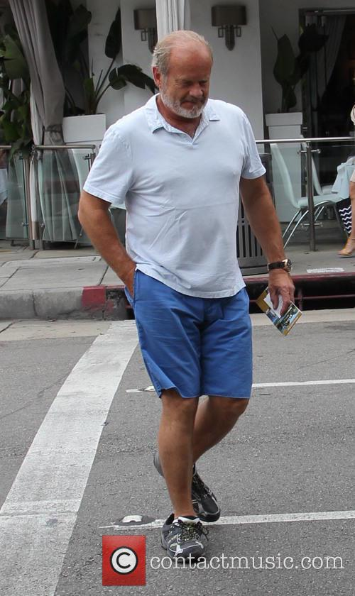 Kelsey Grammer out and about running errands