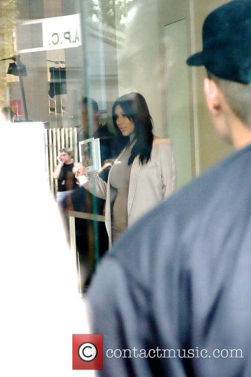 Kim Kardashian at her Dash store event on...