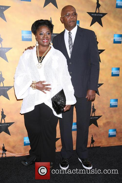 Latanya Richardson and Samuel L. Jackson 2