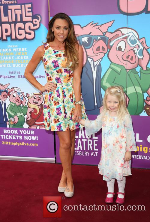 Michelle Heaton and Daughter Faith 2